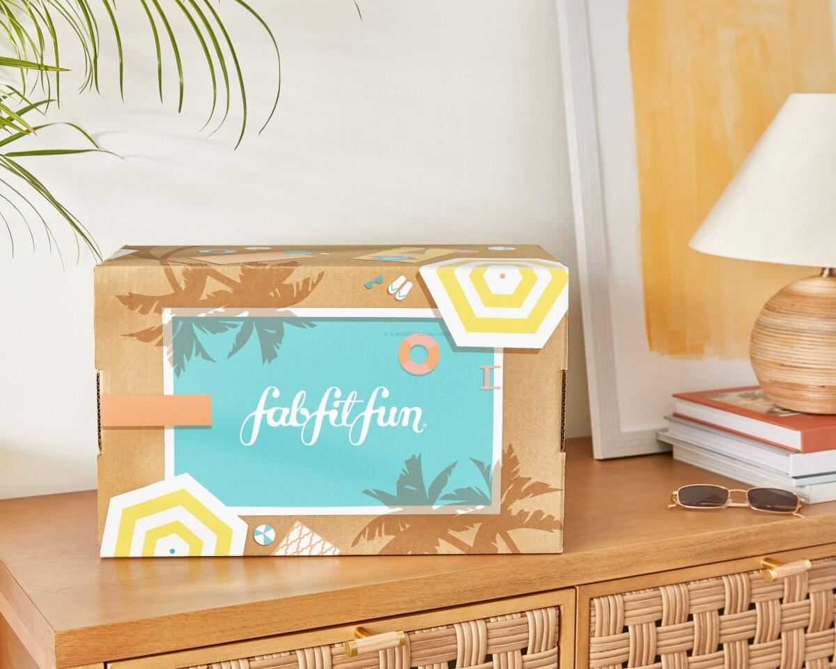FabFitFun Free Box with an Annual Subscription