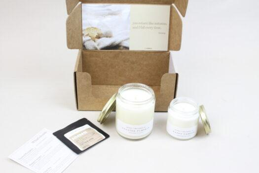 Vellabox October 2021 Candle Subscription Box Review