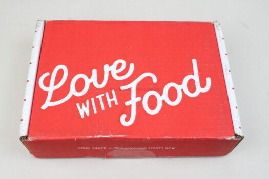 Love with Food September 2021 Review